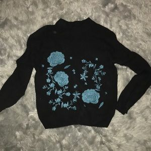 Sweaters - Who What Wear Embroidered Sweater
